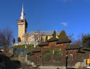 """Biserica ortodoxă cu Hramul """"Sfântul Ierarh Nicolae şi Sfântul Mare Mucenic Gheorghe"""""""